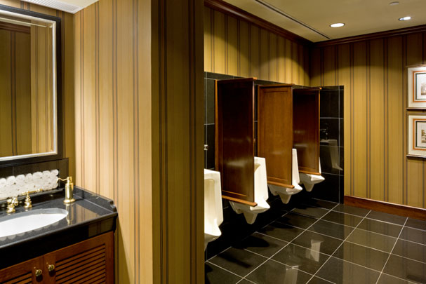 Upscale Private Club Urinals