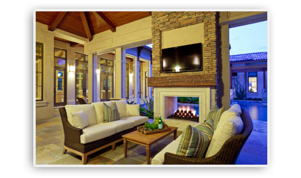 Private club firepits